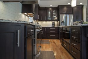 stained oak cabinets shiloh