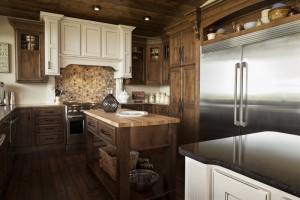 alder wood cabinet shiloh