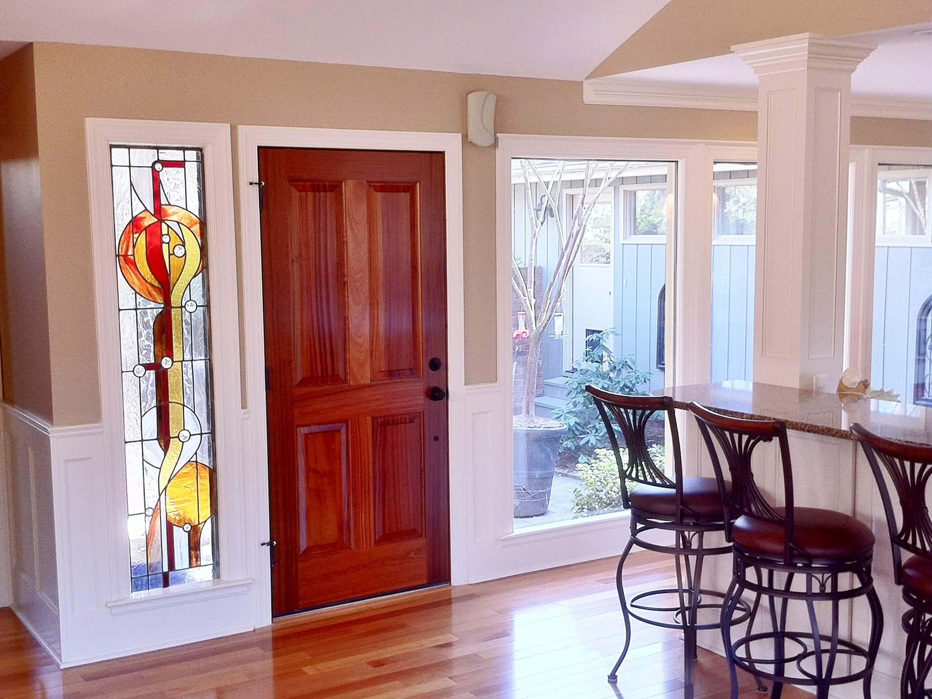 Raleigh Front Door Window Design Energy Efficient Apex
