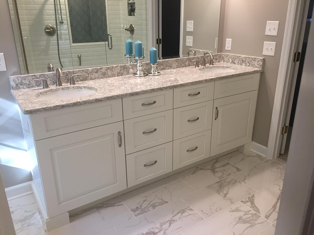 We look forward to designing and installing your brand new cabinet and bathroom hardware